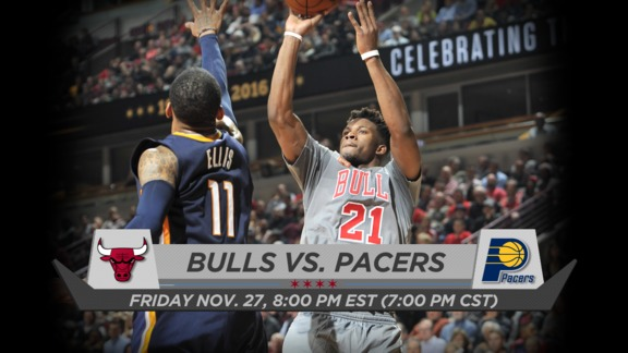 BullsTV Preview: Bulls vs. Pacers - 11.27.15