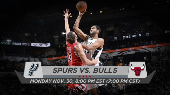 BullsTV Preview: Bulls vs. Spurs - 11.30.15