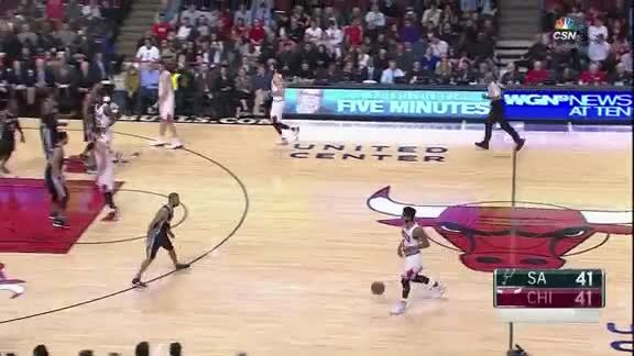 Gasol to Butler for the Alley-oop