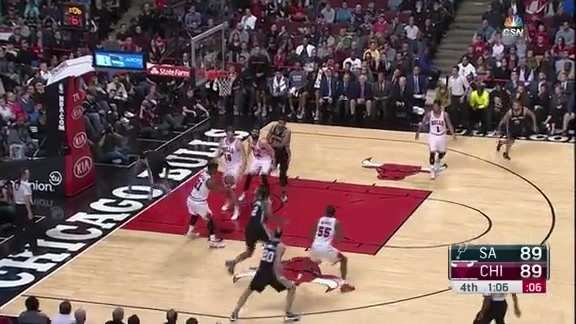 Gasol's Clutch Block on Aldridge