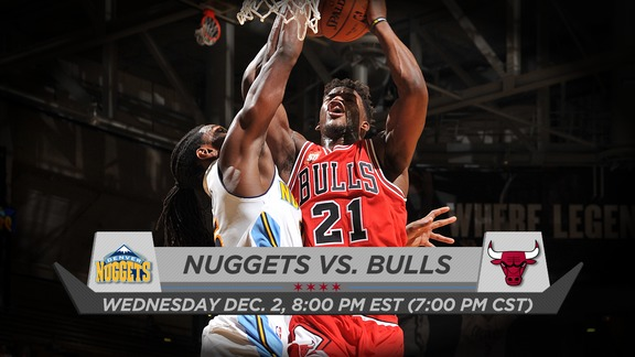 BullsTV Preview: Bulls vs. Nuggets - 12.2.15