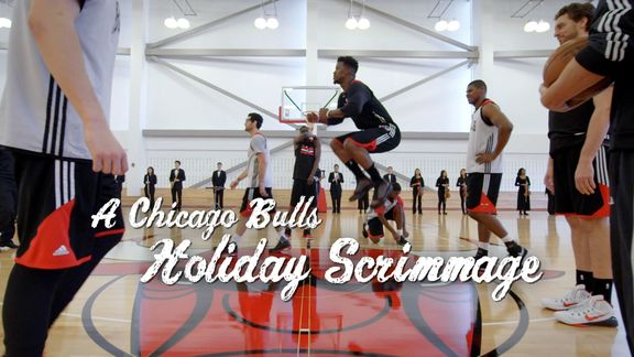 A Chicago Bulls Holiday Scrimmage