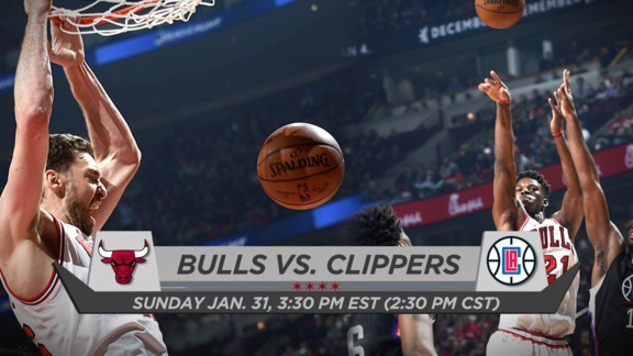 BullsTV Preview: Bulls vs. Clippers - 1.31.16