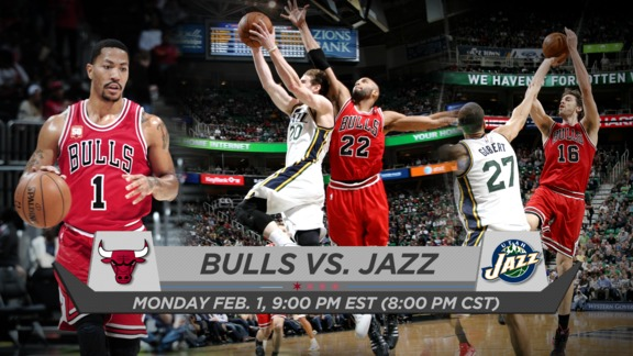 BullsTV Preview: Bulls vs. Jazz - 2.1.16