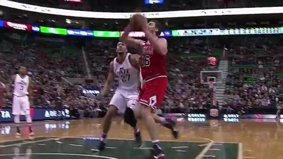 Gasol With the Slam