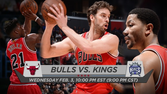 BullsTV Preview: Bulls vs. Kings - 2.3.16