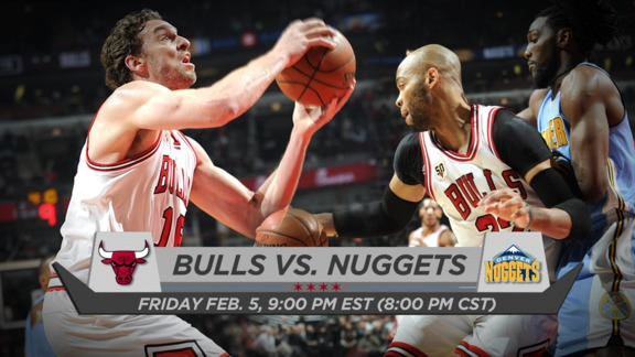 BullsTV Preview: Bulls vs. Nuggets - 2.5.16