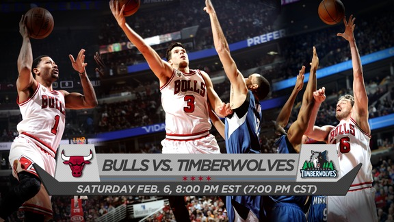 BullsTV Preview: Bulls vs. Timberwolves - 2.6.16