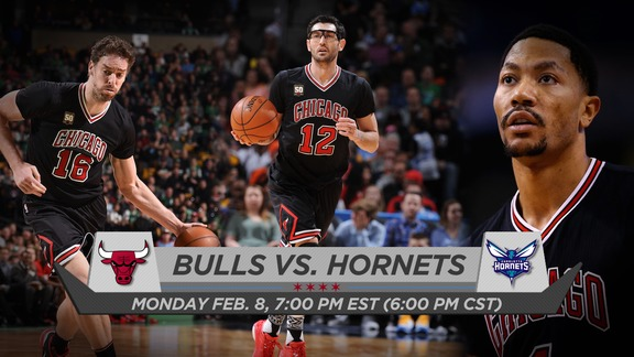 BullsTV Preview: Bulls vs. Hornets - 2.8.16