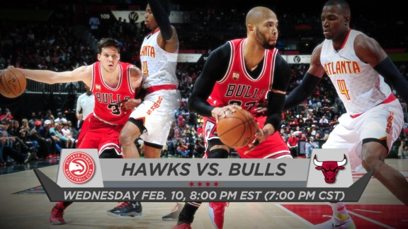 BullsTV Preview: Bulls vs. Hawks - 2.10.16