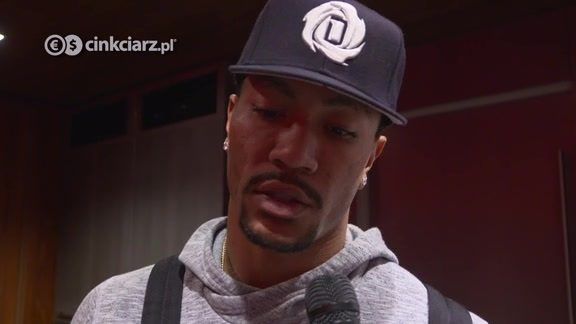 Inside the Locker Room: Derrick Rose 3.28
