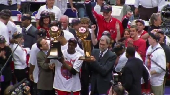 A Chicago Bulls Dynasty: 1996-1998