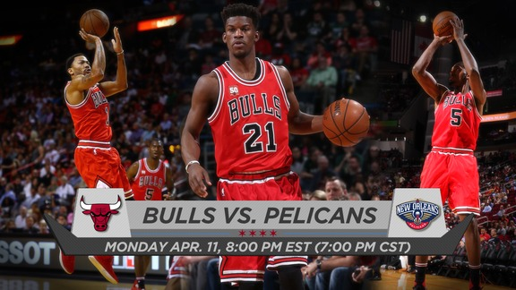 BullsTV Preview: Bulls vs. Pelicans - 4.11.16