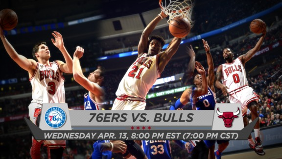 BullsTV Preview: Bulls vs. 76ers - 4.13.16