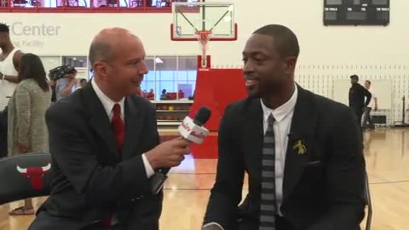BullsTV Interview: Dwyane Wade - 7.29.16