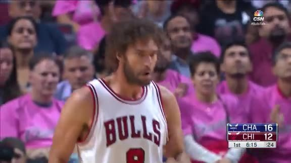 Robin Lopez - Q1 Highlights vs The Hornets