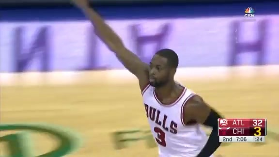 Rondo to Wade: Splash