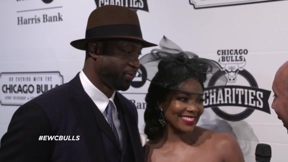 An Evening With the Chicago Bulls: Dwyane Wade and Gabrielle Union - 10.21