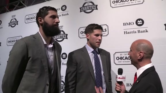 An Evening With the Chicago Bulls: Doug McDermott and Nikola Mirotic - 10.21