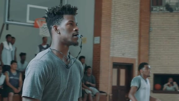 Jimmy Butler surprises the kids of After School Matters