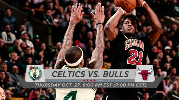 BullsTV Preview: Bulls vs. Celtics - 10.27.16