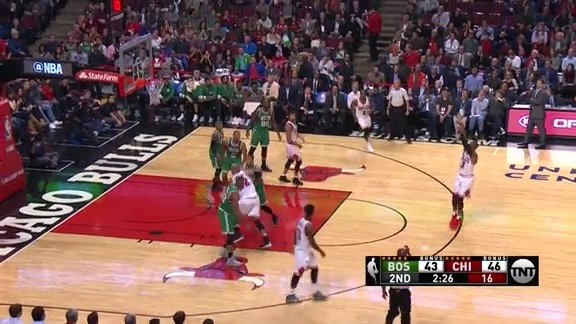 Butler, Wade, and Rondo shoot lights out in the first half