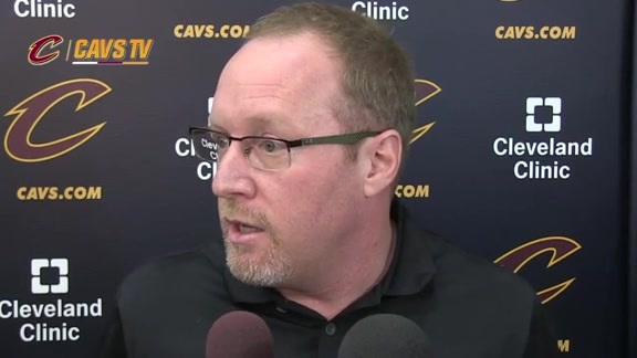 2015 Training Camp Day 1: David Griffin