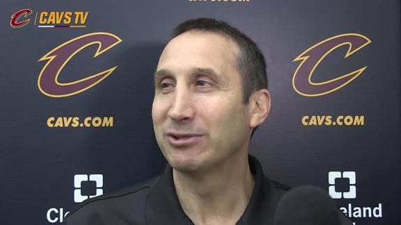 2015 Training Camp Day 4: Coach Blatt