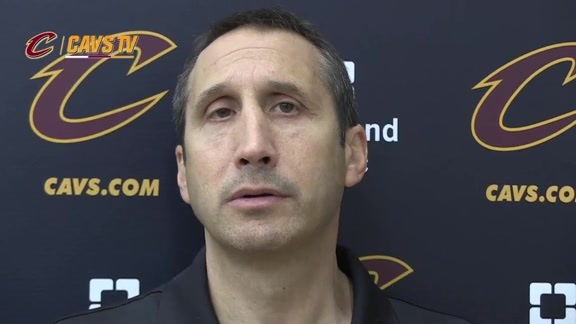 2015 Training Camp Day 6: Coach Blatt
