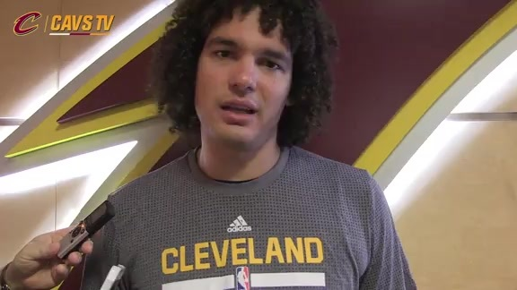 Post-Scrimmage: Anderson Varejao - October 5, 2015
