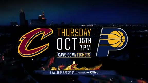 Cavs Take on Pacers in Preseason Action