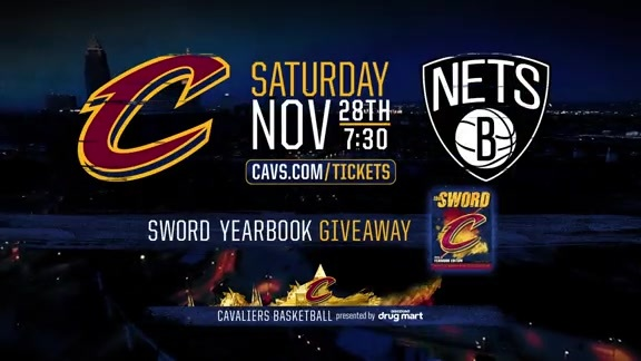 Sword Yearbook Giveaway on November 28th vs. Brooklyn