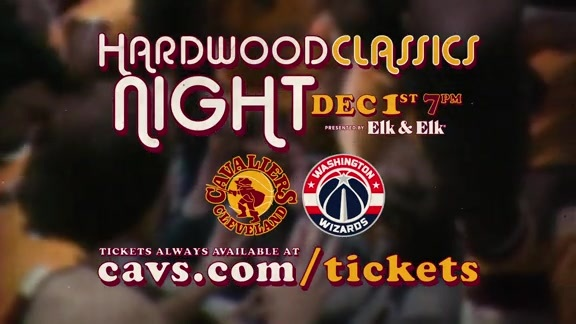 Second Hardwood Classics Night on December 1st