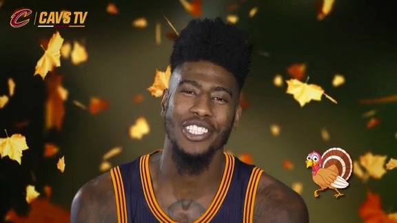 Special Thanksgiving Message from the Cavs