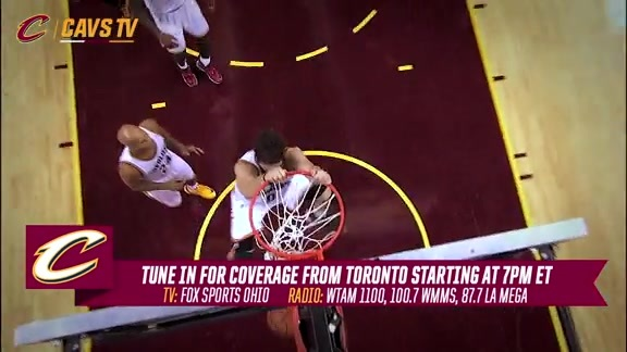 CavsTV Preview at Toronto – November 25, 2015