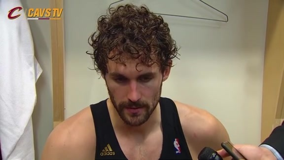 Postgame: Kevin Love – November 25, 2015