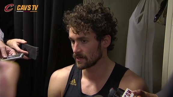 Postgame: Kevin Love – November 27, 2015