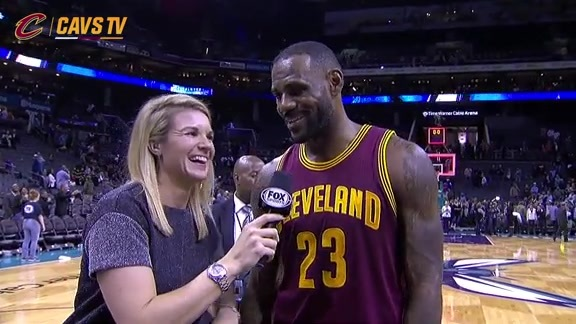On-Court Postgame: LeBron James – November 27, 2015