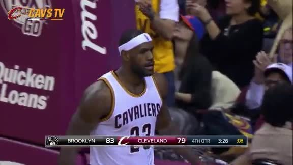 LeBron Strong And-One - November 28, 2015