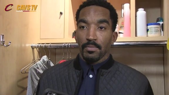Postgame: J.R. Smith – November 28, 2015