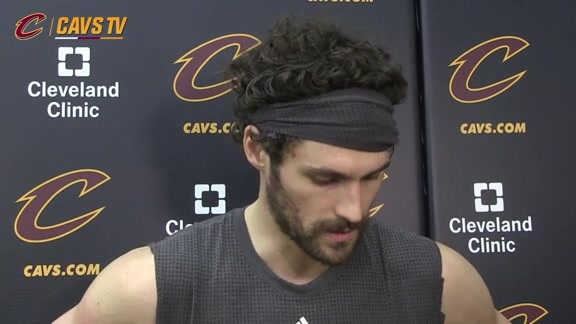 Shootaround: Kevin Love – December 1, 2015