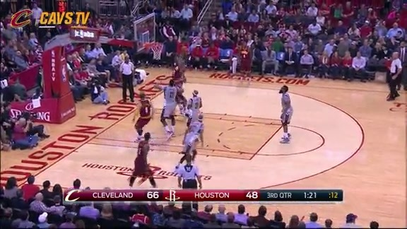 Delly Goes Up Top to Thompson - January 15, 2016