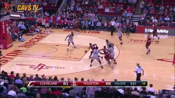 Irving Dances on the Defense - January 15, 2016