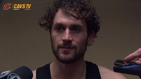 Postgame: Kevin Love - February 1, 2016