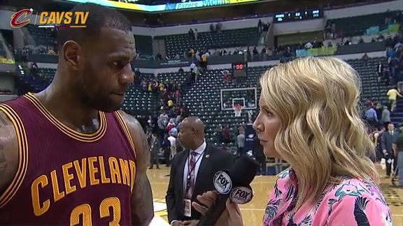 On-Court Postgame: LeBron James - February 1, 2016