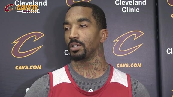 Shootaround: J.R. Smith - February 5, 2016