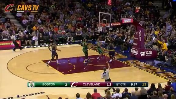 LBJ Steal and Strong And-One - February 5, 2016