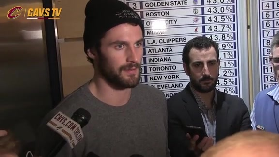 Postgame: Kevin Love - February 5, 2016