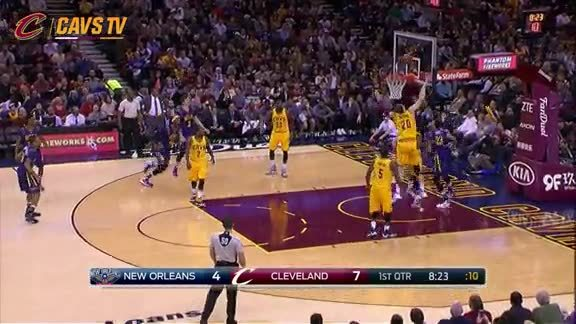 Moz Blocks Anthony Davis - February 6, 2016