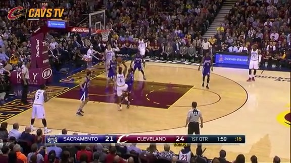 Shumpert Gets the Hoop and the Harm - February 8, 2016